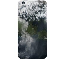 Volcano Chile Aerial Landscape Photography iPhone Case/Skin