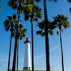 Lighthouse Palms (color) by TrEX214