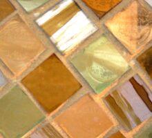 Golden Tiles Sticker