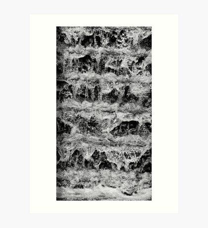 Whispery Wash Art Print