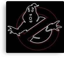 °MOVIES° GhostBusters Neon LOGO Canvas Print