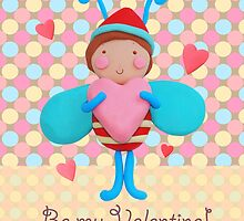 Be my Valentine card by siolin