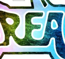 -MOVIES- Grease Rainbow LOGO Sticker