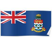Cayman Island Flag Poster