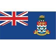 Cayman Island Flag Photographic Print