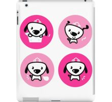 Little dog pink Princess collection iPad Case/Skin
