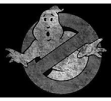 °MOVIES° GhostBusters B&W LOGO Photographic Print