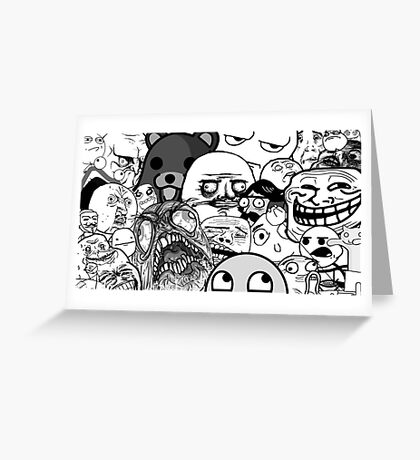 Memes and Memes Greeting Card