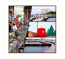 Geelong Waterfront 4 Art Print