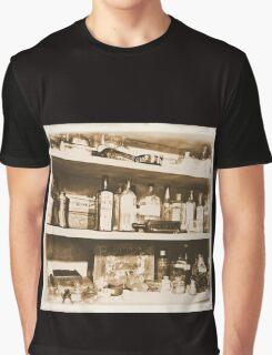 Antique Bottles Graphic T-Shirt