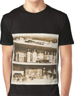 Antique Bottles Graphic T-Shirt