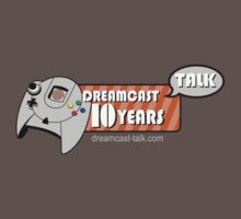 Dreamcast Talk 10th Anniversary Orange Swirl by Dreamcast-Talk