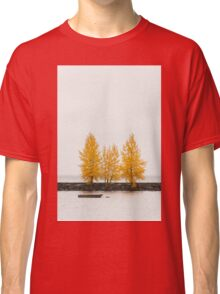 Trees in autumn color Classic T-Shirt