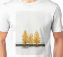 Trees in autumn color Unisex T-Shirt