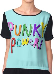 Punky Power Chiffon Top