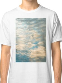 Blue sky reflections in a lake  Classic T-Shirt