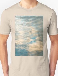 Blue sky reflections in a lake  Unisex T-Shirt