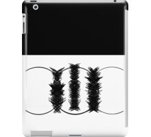 abstract - black and white iPad Case/Skin