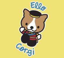 """Ello"" Corgi One Piece - Short Sleeve"