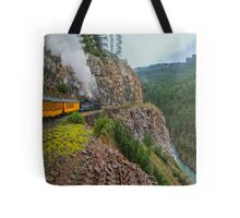 Mountain Top Train Ride Tote Bag