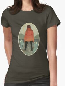 Spirits of the Lake Womens Fitted T-Shirt