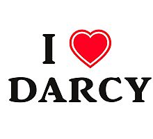 I love Darcy Photographic Print