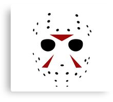 Jason Mask Canvas Print