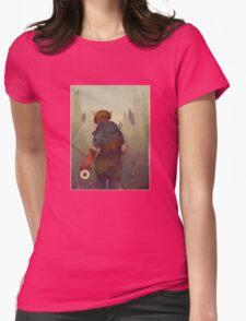 Dumb, Little Secrets Womens Fitted T-Shirt
