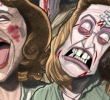 The Evil Dead Women Sticker