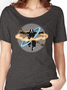 Aang going into uber Avatar state Women's Relaxed Fit T-Shirt