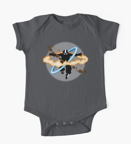Aang going into uber Avatar state One Piece - Short Sleeve