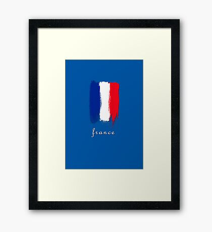 World Cup: France Framed Print