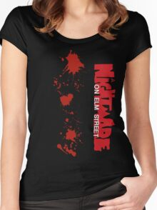 Nightmare On Elm Street Women's Fitted Scoop T-Shirt