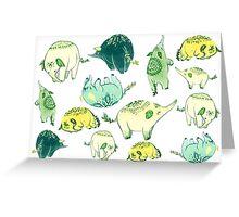 PLANT Elephant Greeting Card