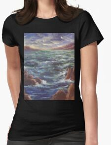 Lighthouse in the Distance AC150426 Womens Fitted T-Shirt