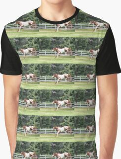 Jumping pony Graphic T-Shirt