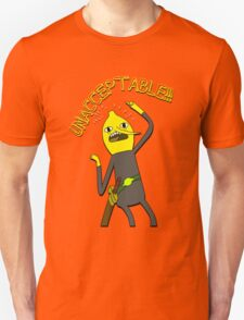 Adventure Time: Lemongrab 'Unacceptable' Unisex T-Shirt