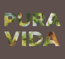 Pura Vida Costa Rica Palm Trees Baby Tee