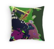 Butterfly Abstract Cushion. Throw Pillow