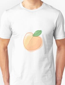 Watercolor Peach Unisex T-Shirt