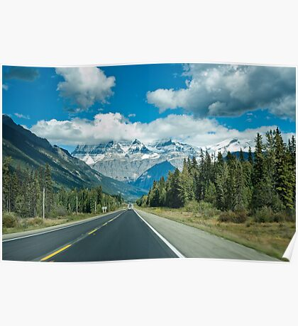 Icefield parkway  Poster