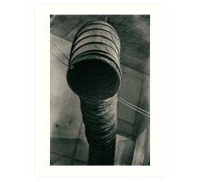 Air suction duct Art Print