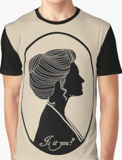 Somewhere in Time Silhouette Elise McKenna Graphic T-Shirt