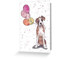 Birthday Boxer Greeting Card