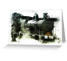 Steam 01 Greeting Card