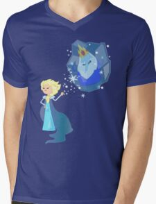 Be my Ice Queen Mens V-Neck T-Shirt