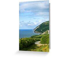 Cape Breton Highlands National Park Greeting Card