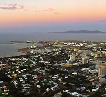 Townsville at Sunset  by Paul Gilbert