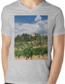 Tuscany Villa Mens V-Neck T-Shirt