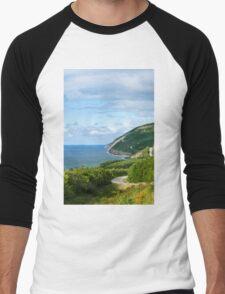 Cape Breton Highlands National Park Men's Baseball ¾ T-Shirt